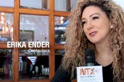 Coautora de Despacito, Erika Ender, promueve disco. VIDEO