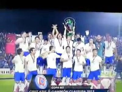 ¡Cruz Azul es Campeón! VIDEO