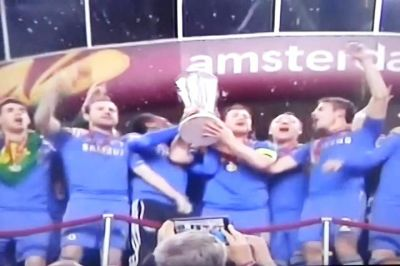 Chelsea campeón de la UEFA Europa League. VIDEO