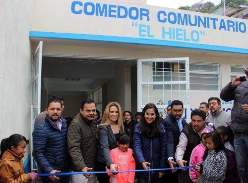 Inaugura Huixquilucan Comedor Comunitario Expediente