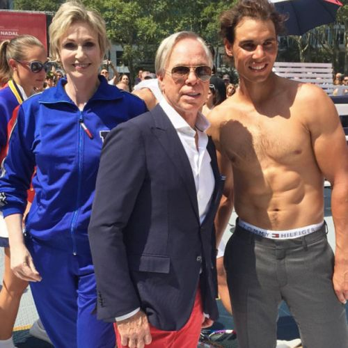 Rafael Nadal posa para Tommy Hilfiger (VIDEO)